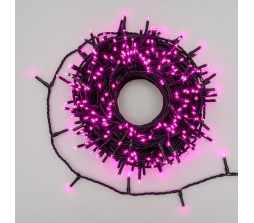 Catena luminosa 360 miniled Rosa